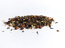 Tea. Heap of tea. isolated on white background Royalty Free Stock Image