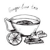1 tea Arkivbild
