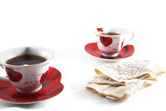 Tea and accessories Stock Photo