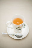 Tea,Afternoon tea. A one afternoon tea in cup Royalty Free Stock Photography