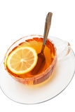 Tea And A Lemon Royalty Free Stock Images
