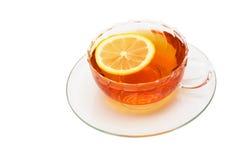 Tea And A Lemon Royalty Free Stock Image