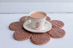 Free Tea And Biscuits Stock Images - 43424334