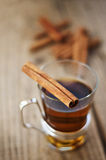 Tea And Cinnamon Stock Photo