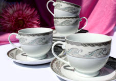 Tea And Coffee Cups Stock Photo