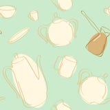 Tea And Coffee Pots. Royalty Free Stock Photo