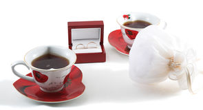 Free Tea And Rings Royalty Free Stock Image - 1832546