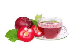 Tea from apple Royalty Free Stock Photos