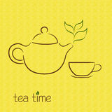 Tea aroma Royalty Free Stock Photography