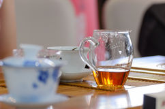 Tea art of China. Royalty Free Stock Photo