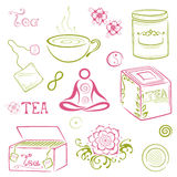 Tea, asian Royalty Free Stock Photography