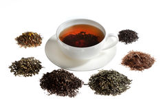 Tea assortment Royalty Free Stock Photography