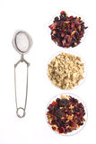 Tea assortment Royalty Free Stock Images