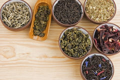 Tea assortment Royalty Free Stock Photo