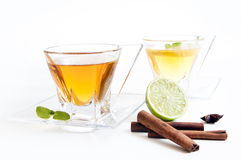 Tea background Stock Photo