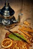 Tea background Royalty Free Stock Photos