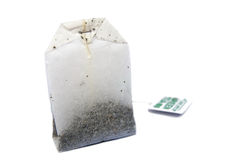 Tea Bag 01 Royalty Free Stock Images