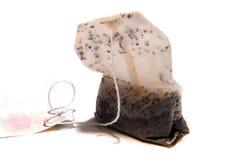 Tea bag. Water soacked, wet tea bag Stock Photo