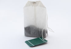 Tea bag. Royalty Free Stock Photography