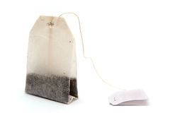 Tea bag. Tea bag isolated on white Royalty Free Stock Images