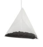 Tea bag for brewing Stock Photo