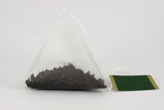 Tea bag for brewing Royalty Free Stock Image