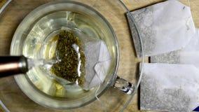 Tea-bag of chamomille
