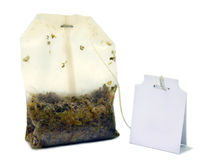 Tea bag Royalty Free Stock Images