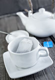 Tea in bag Stock Image