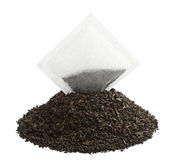 Tea bag and dry tea Royalty Free Stock Photos