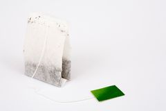 Tea bag isolated Royalty Free Stock Photos