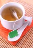 Tea bag label Stock Photography