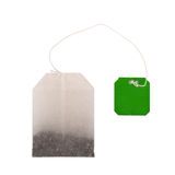 Tea bag on white background Royalty Free Stock Photo