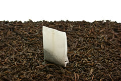 Tea bags. Isolated on a white background Royalty Free Stock Photos