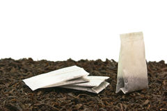 Tea bags Stock Images