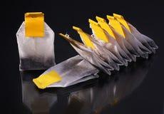 Tea bags Stock Photography