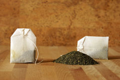 Tea Bags Royalty Free Stock Images
