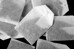 The tea bags. Stock Images