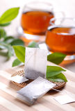 Tea bags Stock Photos