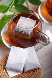 Tea bags Stock Photo