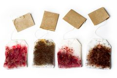 Free Tea Bags Royalty Free Stock Photography - 9907697