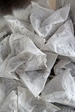 Tea bags background Stock Photography