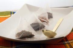 Tea bags Stock Photo