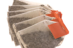 Tea Bags Isolated Royalty Free Stock Images