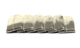 Tea bags isolated Stock Photography