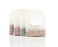 Tea Bags. On white background Stock Photography