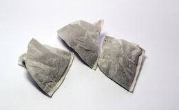 Tea bags on a white background. Stock Photography