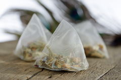 Tea bags Royalty Free Stock Photo