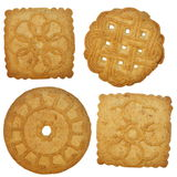 Tea biscuit isolated Royalty Free Stock Photography