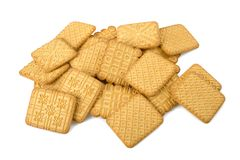 Tea biscuits Stock Images